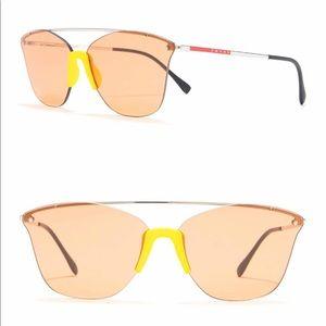 Prada Linea Rossa  cat eye sunglasses
